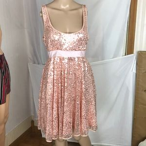 Betsey Johnson Sequined Evening Dress Size 8